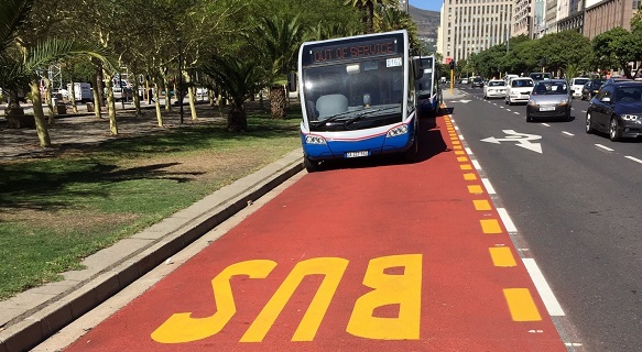 Bus Lanes Cape Town 2015