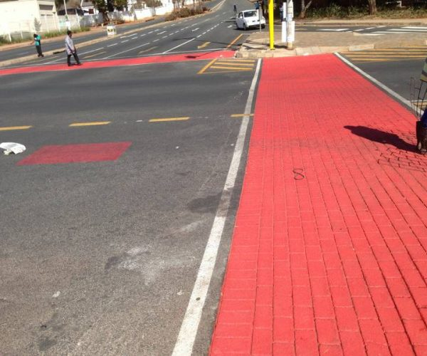 STREETPRING CROSSWALK, EMPIRE RD., JHB
